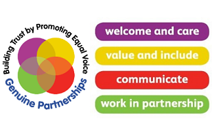 Rotherham Charter and Genuine Partnerships logo